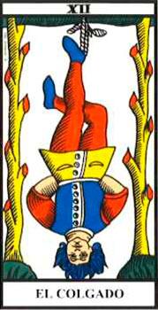 tarot el colgado
